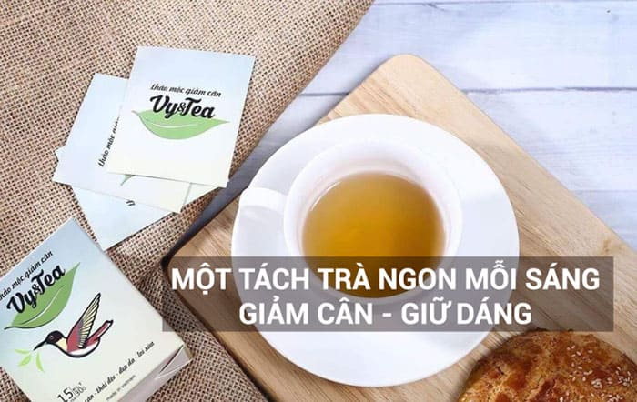 tra giam can vy tea