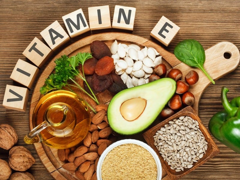 giam can bang vitamin e