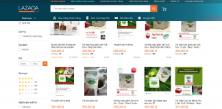 tra giam can vy tea lazada